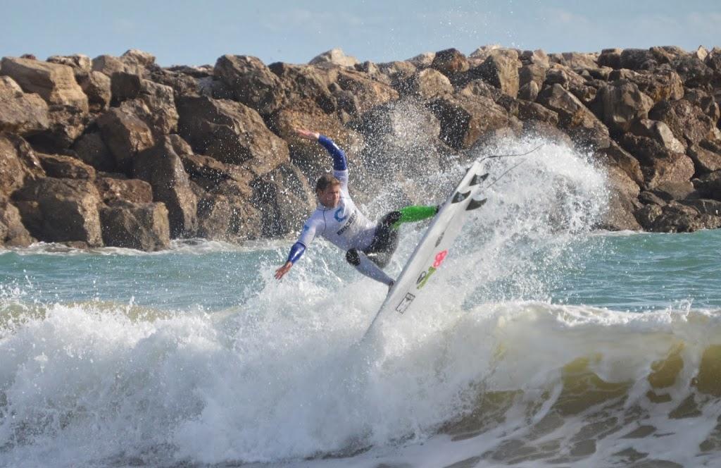 Circuito Algarve : Marlon rei da falésia surf circuito do algarve swell