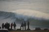 Natal com swell forte nos Coxos, Ericeira. Final de tarde de 23 de Dezembro sem surfistas no mar.   @Direitos Reservados - Paulo Marcelino