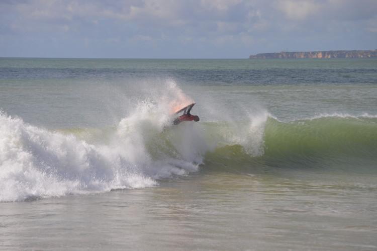 III Campeonato da Malta, Praia da Rocha: Jorge Nunes, vencedor Bodyboard (@paulomarcelino)