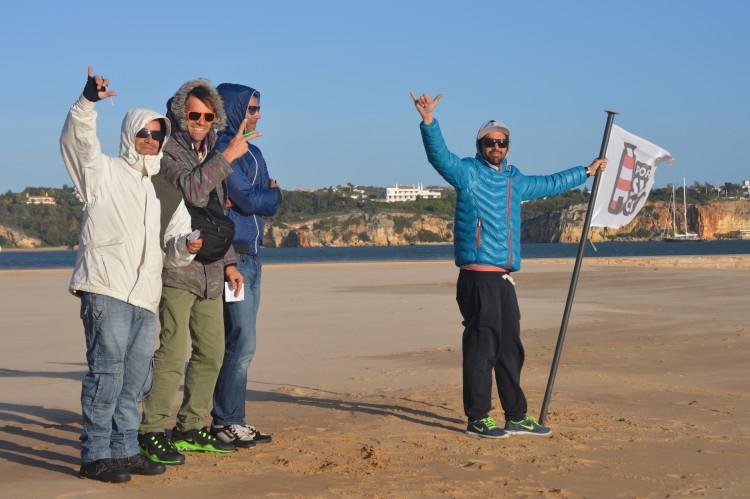 III Campeonato da Malta, Praia da Rocha: Incentivo aos atletas na última final do dia (@paulomarcelino)