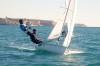 João Villas-Boas & Miguel Nunes venceram todas as regatas até agora disputadas em 470 (@fpv)