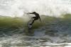 Alex Botelho, muito experiente em ondas grandes, triunfou em Ribeira d'Ilhas (@ruioliveira)