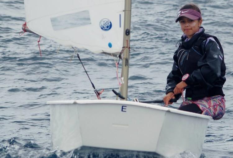 Algarvia Beatriz Gago comandou frota feminina desde o primeiro dia (@federacaoportuguesavela)