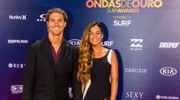 Alex Botelho 'de gala', no Casino do Estoril, com Joana Duarte (®PedroMestre)