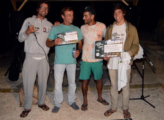I Vale Figueiras Open | Francisco Bívar, à direita, e João Pedro Mendonça, 1º e 2º Longboard (®PauloMarcelino)