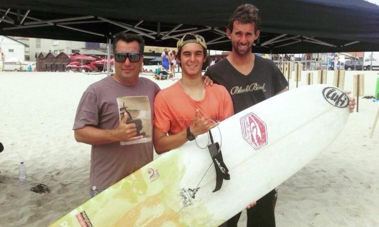 Lufi com João Dantas (ao centro) e Luís Esteves, respetivamente 1º e 4º classificados em Cortegaça (®Lufi)