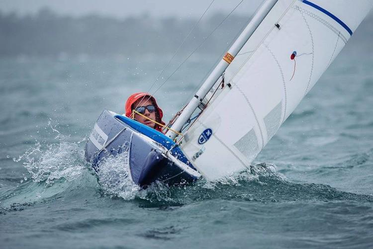Pedro Reis, de Cascais, foi 3º classificado entre os 10 velejadores no estágio internacional em Inglaterra (®VelaSolidaria)