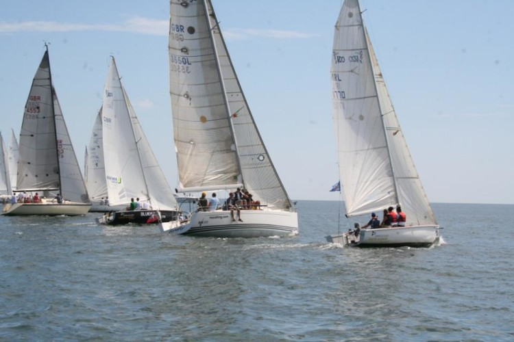 VIII Bluewater Algarve Regatta juntou cerca de 30 barcos Cruzeiros (®VelaSolidaria)