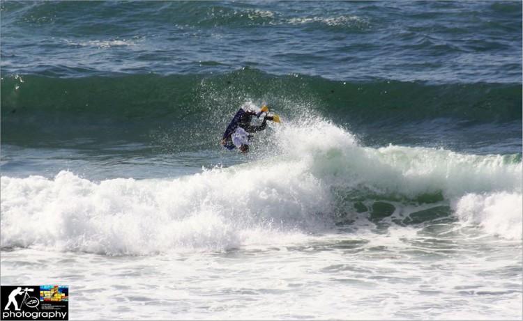Luís Pinheiro realizou a Melhor Manobra da etapa em Odeceixe (®NBZM)