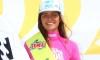Teresa Bonvalot, 15 anos de idade, é a primeira atleta a ganhar dois títulos nacionais de surf consecutivos (®ANS)