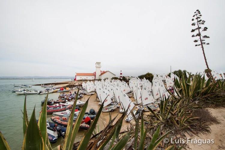 Campeonato de Portugal de Infantis e Iniciados 2015 decorre ao largo da Ilha do Farol e termina segunda-feira, 7 de setembro (®GCNFaro/LuisFraguas)