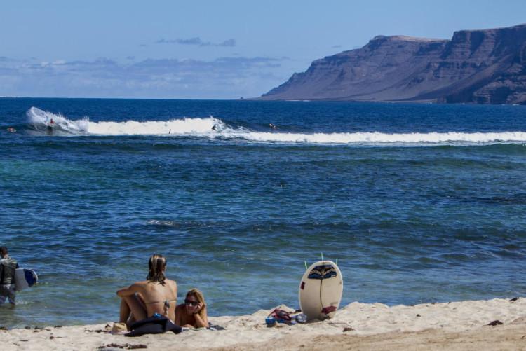 São esperadas condições clássicas no Pico de San Juan para o primeiro dia da prova, quarta-feira 16 setembro (®WSL)
