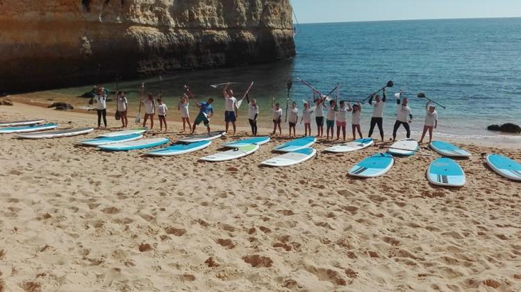 SUP é, talvez, a modalidade mais dinâmica no programa de atividades do Albufeira Surf Clube (®ASC)