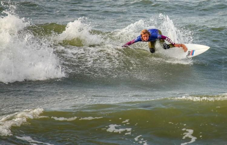 Egor Volkov tem 15 anos de idade e começou a treinar-se com o Portimão Surf Clube há 3 anos (®DireitosReservados)