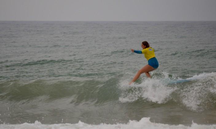 Nacional Longboard | Praia de Faro | 4 outubro | Kathleen Barrigão (®PauloMarcelino)