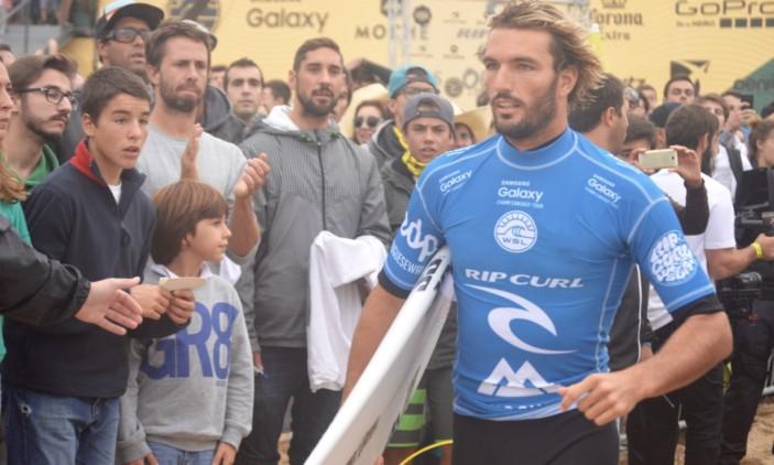 Moche Rip Curl Pro Portugal | 25-10-2015 | Supertubos | Frederico Morais (®PauloMarcelino)