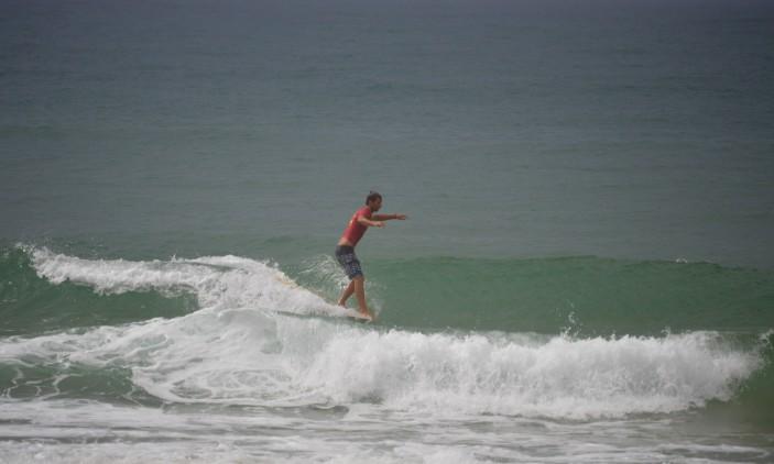 Nacional Longboard | Praia de Faro | 4 outubro | Luís Esteves (®PauloMarcelino)