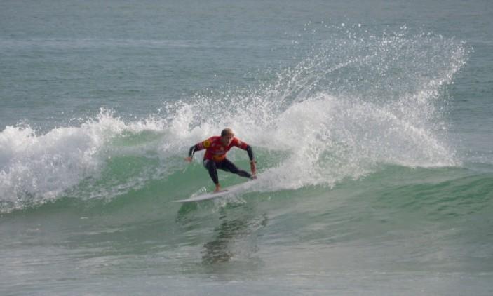 Montepio Cascais Pro | Carcavelos | 9 outubro | Marlon Lipke na Ronda 3 (®PauloMarcelino)