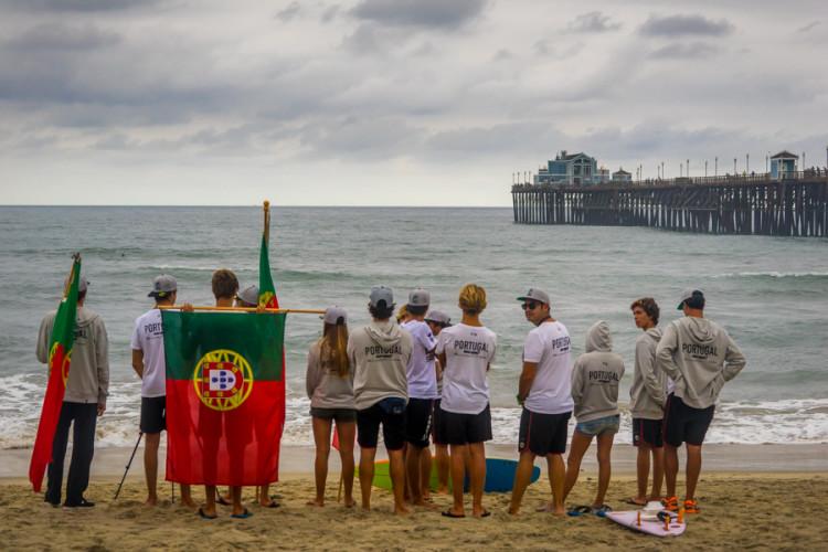 Seleção de Portugal vai estar a surfar em casa no Mundial Junior do próximo ano (®SeanEvans/ISA)