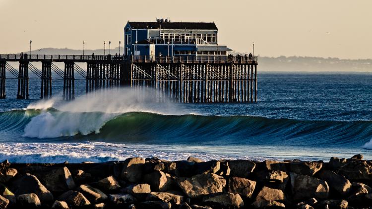 Aventura dos algarvios no Mundial prossegue em 'free surf' e convívio na festa das nações na praia de Oceanside (®ChrisGrant/ISA)