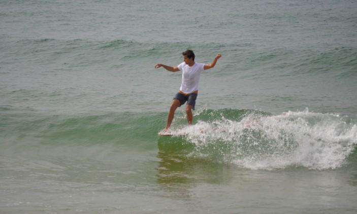 Nacional Longboard | Praia de Faro | 4 outubro | Sebastião Maia (®PauloMarcelino)