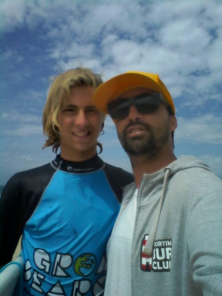 Egor Volkov com o seu treinador, Francisco Canelas (®DireitosReservados)