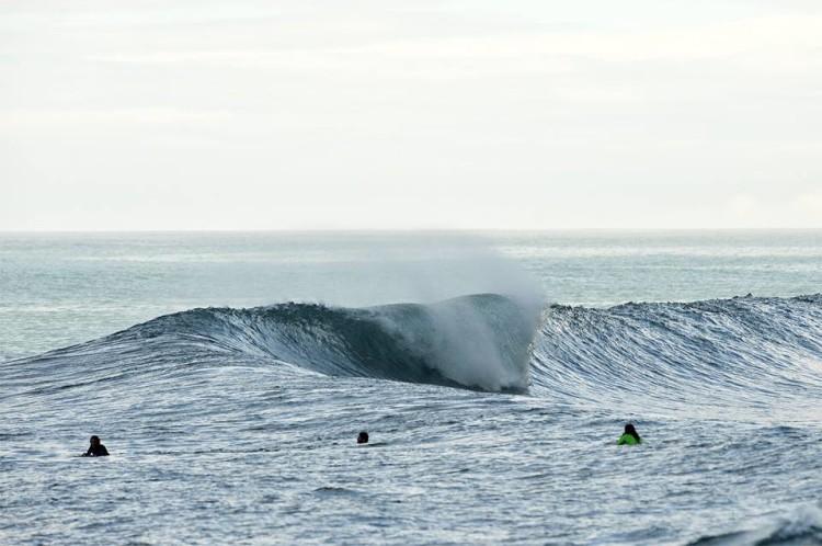 Esta é a onda do BBGE 2015, etapa que marca a estreia do circuito europeu ETB na Ilha da Madeira (®BBGE)