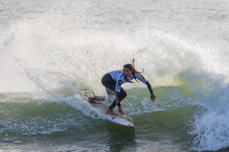 Teresa Bonvalot venceu a final feminina no último minuto (®RicardoBravo)