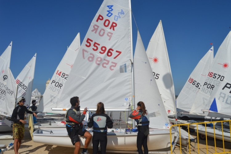 Reforço da frota 420 no Campeonato do Algarve de Vela Ligeira foi uma novidade já prevista (®PauloMarcelino)