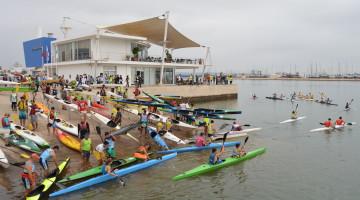 Em 2014 foram pouco mais de 300; este ano vão ser quase 400 remadores no Rio Arade (®PauloMarcelino/Arquivo)