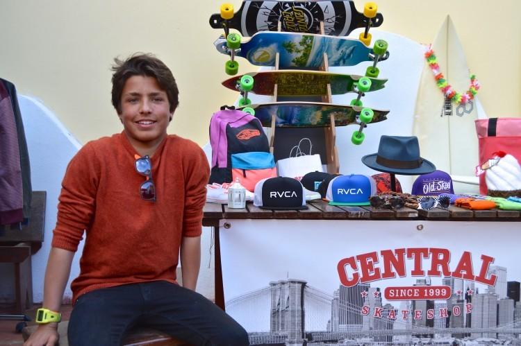 Surfista Ricardo Augusto vai receber dois prémios Prata, por resultados nacionais em desporto federado e desporto escolar (®PauloMarcelino/Arquivo)