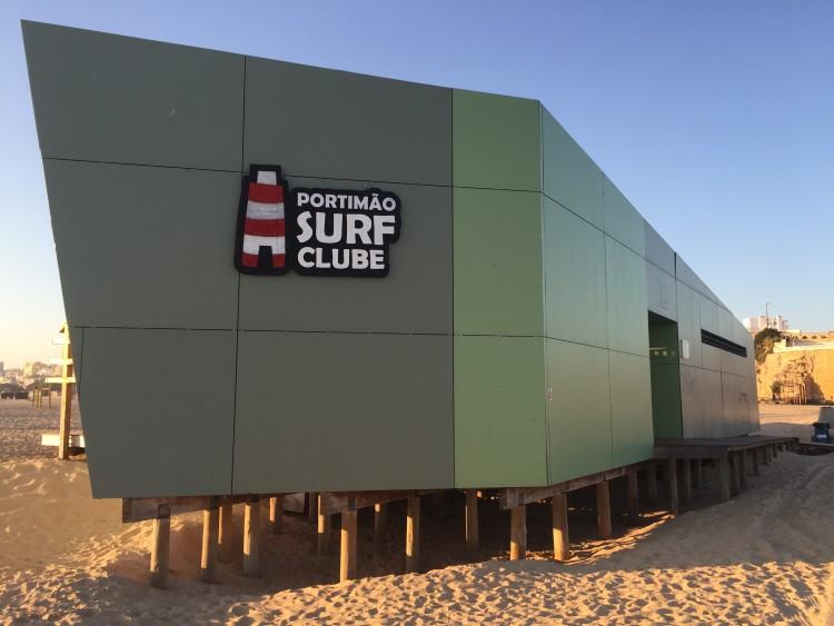 Portimão Surf Clube é parceiro do Instituto Lusófono de Treino Desportivo para a realização do curso de formação de treinadores de surf em Portimão (®PauloMarcelino)