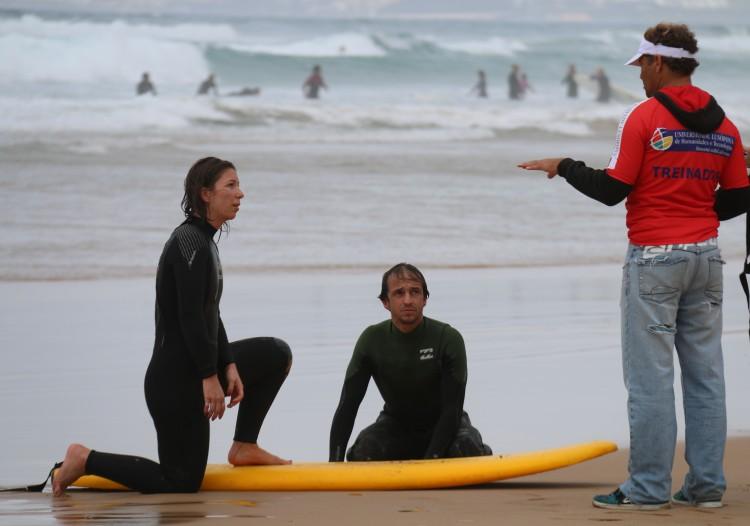 Em Portimão, aulas teóricas vão ser no ISMAT e aulas práticas na Praia da Rocha (®UniversidadeLusofona)
