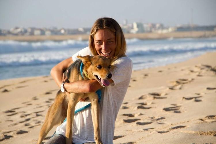 Joana Schenker é vegan, não consome qualquer alimento de origem animal… por razões éticas (®IsaMartins)
