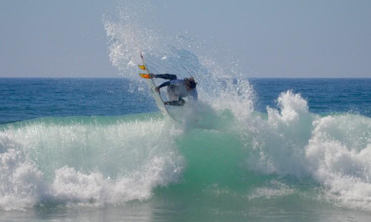 Luca Guichard vai competir na modalidade surf, sábado de manhã, dia 7 de novembro, no Rio de Janeiro (®PauloMarcelino/Arquivo)