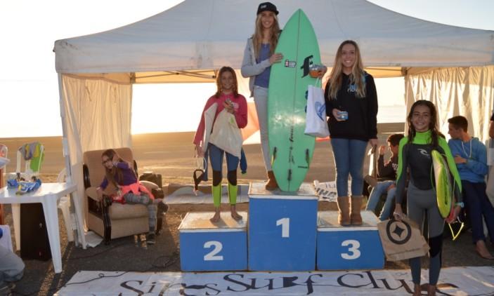 Open Sines Surf Clube | Pico Louco, S. Torpes | 28_29-11-2015 | Pódio Open Feminino (®PauloMarcelino)