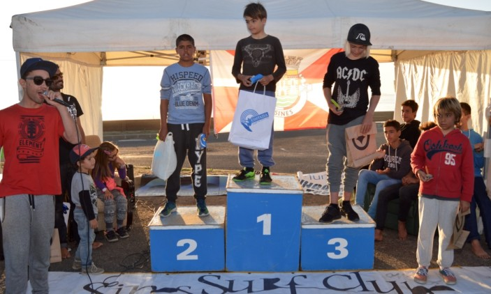 Open Sines Surf Clube | Pico Louco, S. Torpes | 28_29-11-2015 | Pódio Sub-12 (®PauloMarcelino)