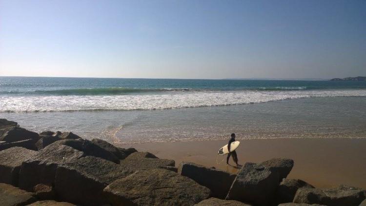Praia da Rocha, terça-feira, 17 de novembro (®JoãoBrekBracourt)