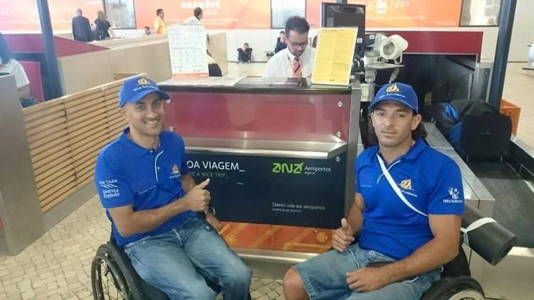Guilherme Ribeiro & João Pinto, vice-campeões europeus 303 Duplos, estreiam-se este ano na 'passadeira dourada' (®VelaSolidaria/Arquivo)
