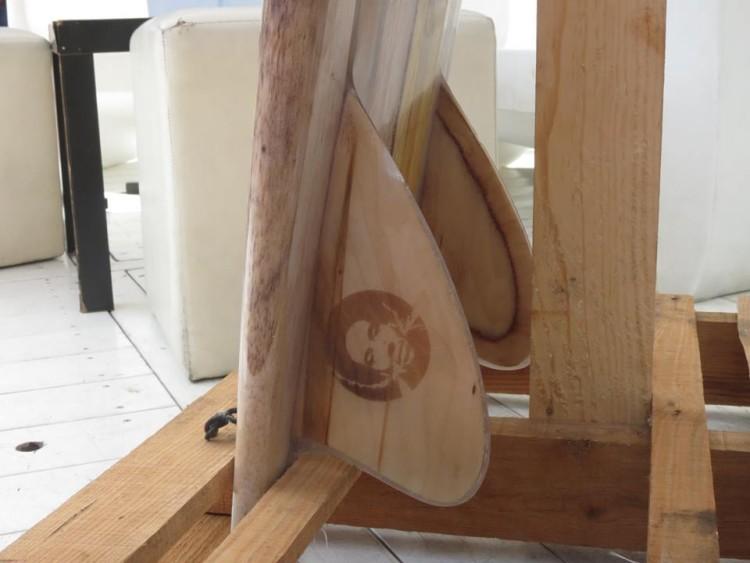 Quilhas de madeira feitas à mão e à medida do cliente é uma das propostas de Carlos Sonderblohm (®DireitosReservados)