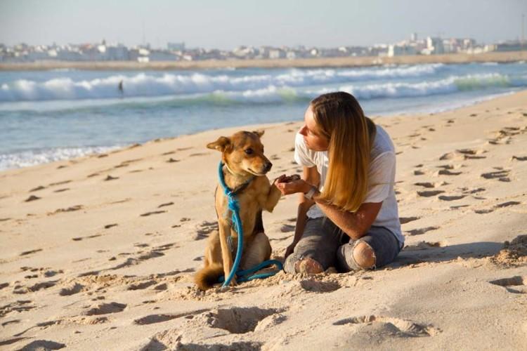 """Ajudar os animais é uma causa que """"toca bastante"""" a atleta algarvia (®IsaMartins)"""