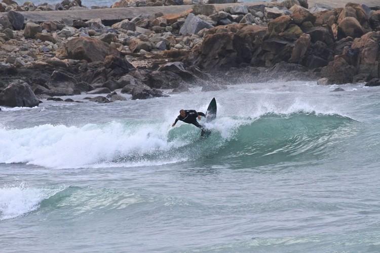 Miguel Marinho em ação no I Campeonato Nacional de Surf Masters (®PikasPhotography/CSPorto)