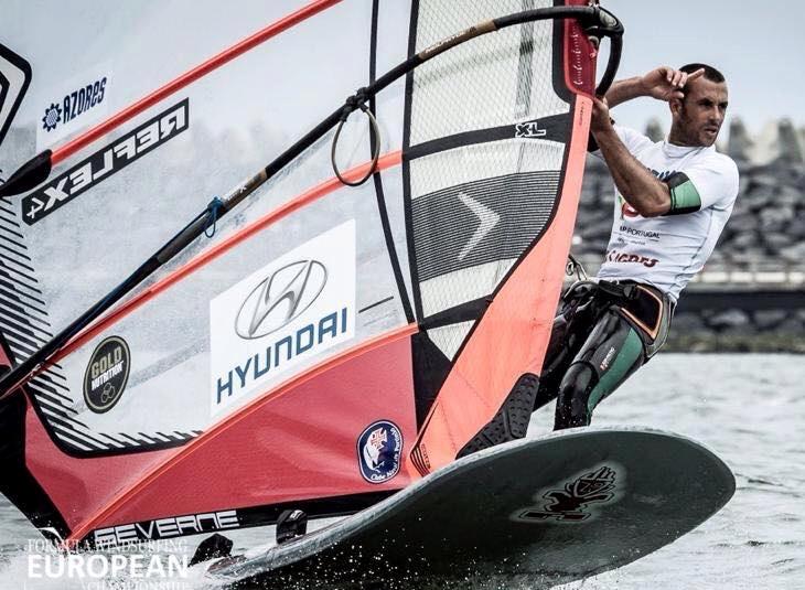 Miguel Martinho é multicampeão de Formula Windsurfing e repetente nos Prémios Grau Ouro (®DR)