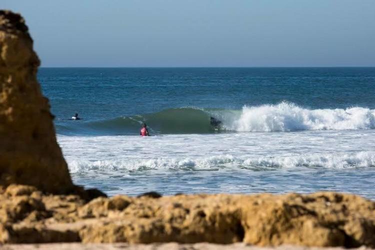 Condições do mar na etapa foram boas, como a imagem documenta (®PadroPatrício/AquaCarca)