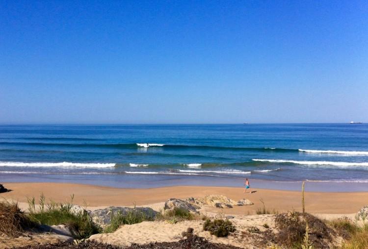 Pico Louco, em São Torpes, é o ponto de encontro e 'prime spot' para o evento do Sines Surf Clube (®PauloMarcelino/Arquivo)