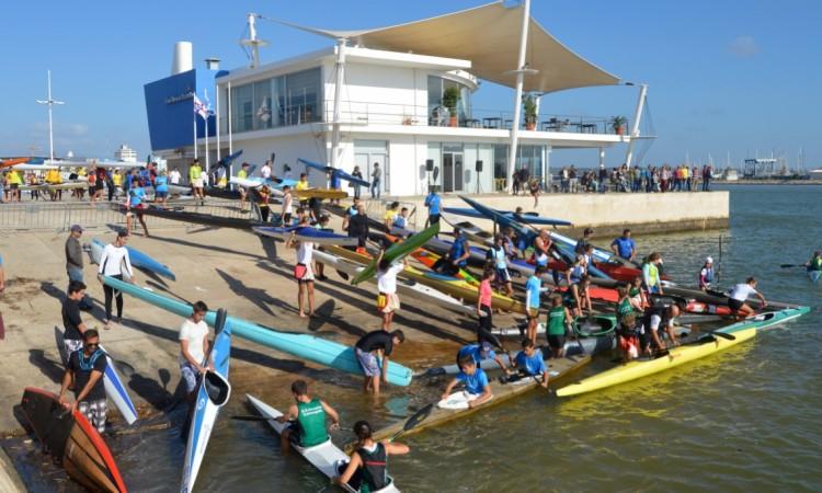 Saída do Clube Naval do Portimão ocorreu pelas 10h30 (®PauloMarcelino)