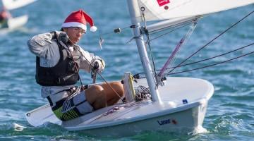 Farense André Granadeiro venceu a primeira regata e fez 3º lugar na geral 4.7 em Cascais (®LuisFraguas)