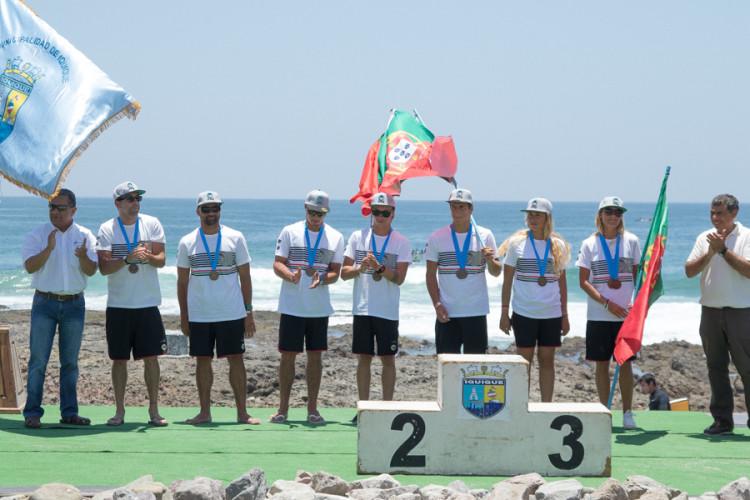 Seleção de Portugal ficou em 6º lugar por equipas. Joana Schenker e Staphanos Kokorelis foram os melhores portugueses no Chile (®PabloJimenez/ISA)