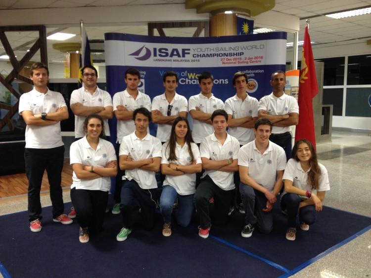 Seleção de Portugal ao Campeonato do Mundo de Vela da Juventude ISAF na Malásia (®FPV)