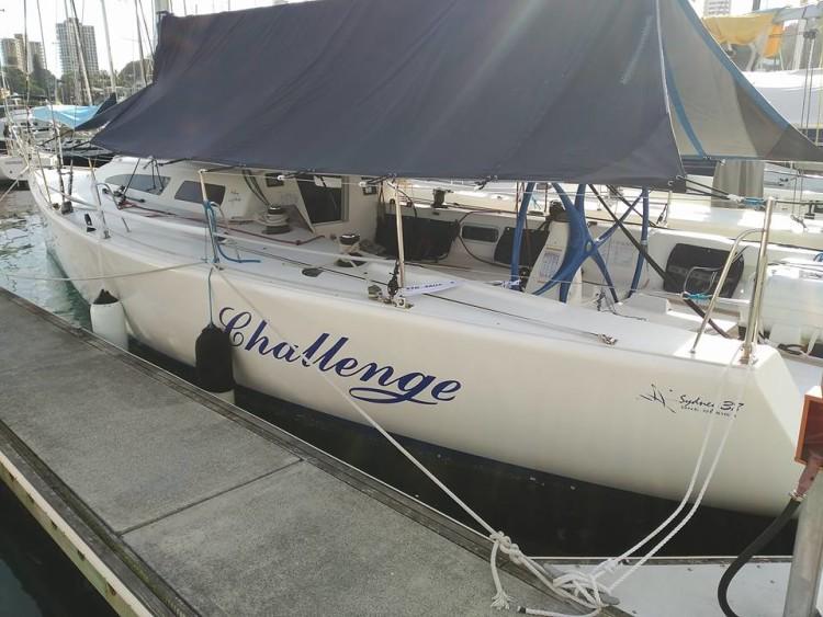 Challenge, um dos melhores Sydney 38 na Austrália. O barco onde Luís Brito vai realizar o sonho (®DR)